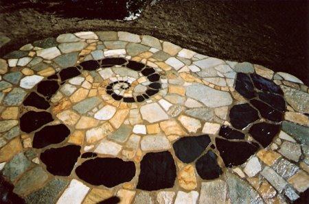 Slate Stone Spiral
