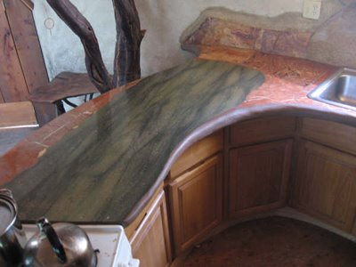 Dome Marble Mosaic Kitchen Counter