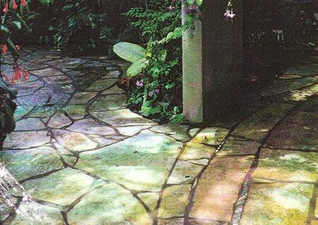 Flagstone Path at Dan's