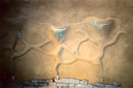 Earthen Plaster & Mosaic
