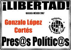 Libertad a GONZALO LOPEZ CORTES