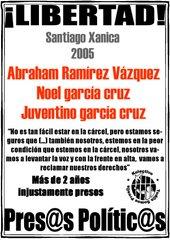 Libertad para Santiago Xanica