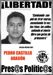 Libertad a PEDRO CASTILLO ARAGN