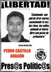 Libertad a PEDRO CASTILLO ARAGÓN