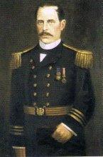 Elías Aguirre, Segundo Comandante del Monitor Huáscar