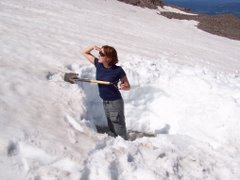 Eliot Glacier 2005