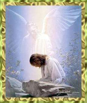 Yesus Berdoa Di Kebun Getsemani
