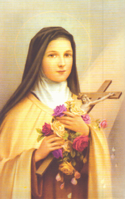 Santa pelindung saya, St. Teresa