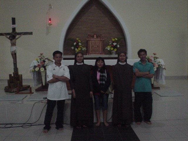 Saya bersama Sr. Roswita & Sr. Dominica