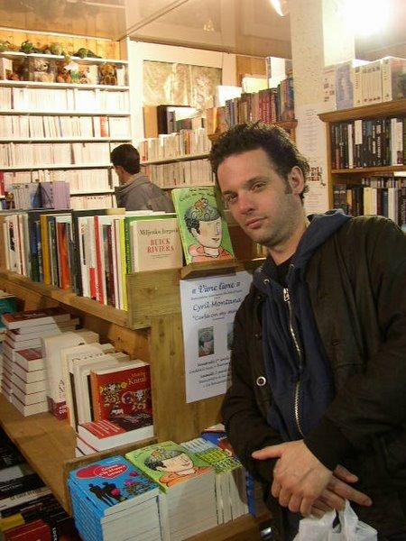 Cyril Montana à la librairie