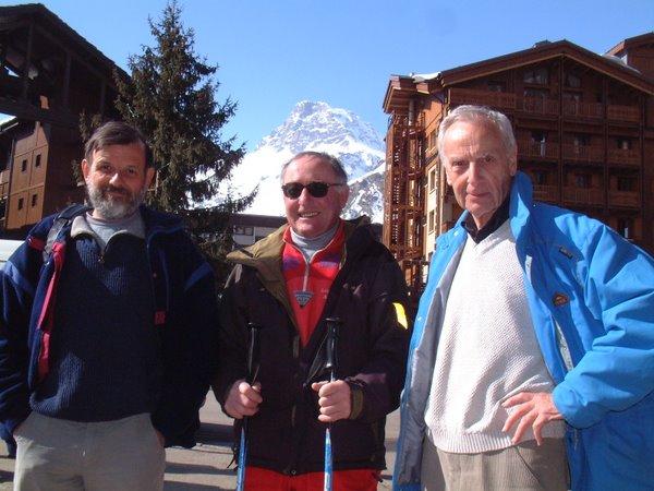 Daniel Grévoz, Roland Ravanel & Michel Desorbay
