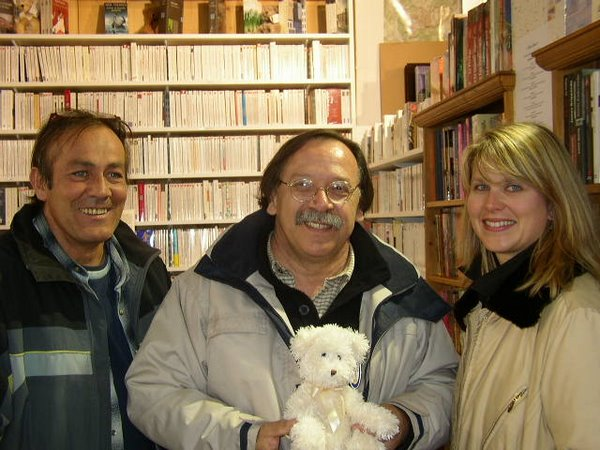 Jacques Gaillard à la librairie