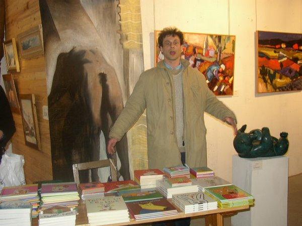Alex Sanders à la galerie Daniel Besseiche