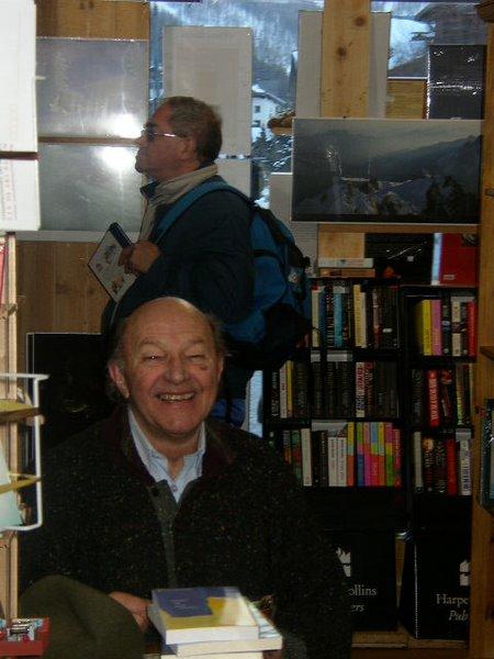 Maurice Pons à la librairie