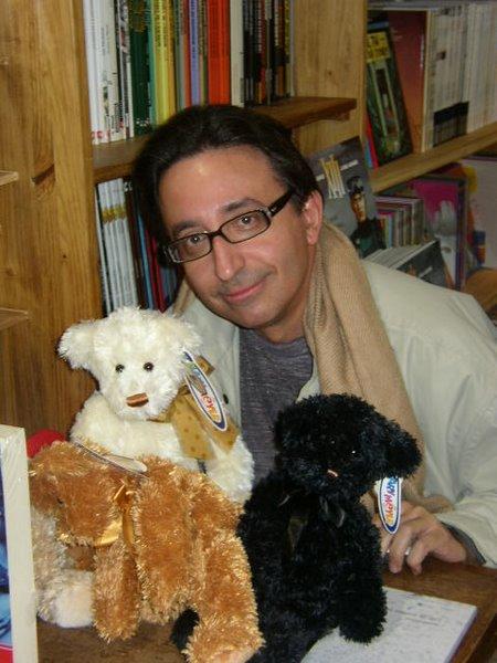 José Carlos Somoza à la librairie
