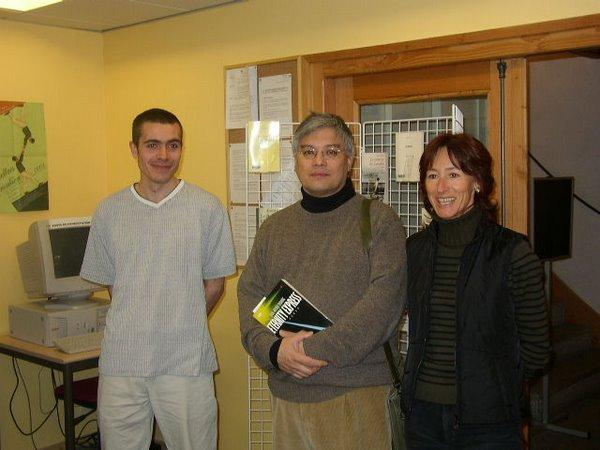 Jean-Michel Truong à la Médiathèque