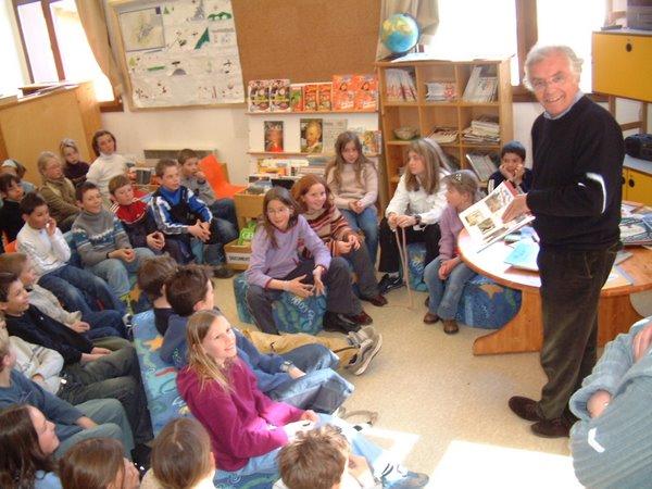 Jean-Loup Chiflet à l'école primaire
