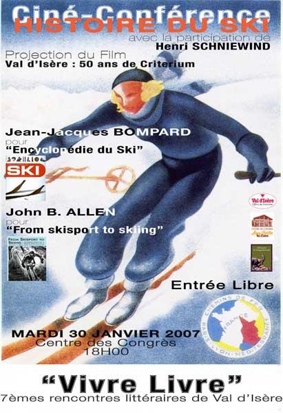 conférence sur le ski