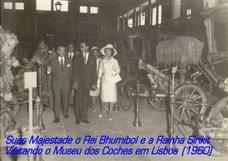 Suas Majestades os Reis da Tailândia Visitam Portugal em 1960