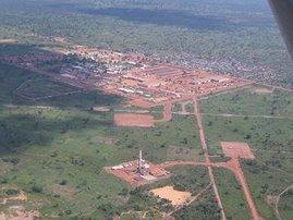ExxonMobil's Drilling Camp, Kome