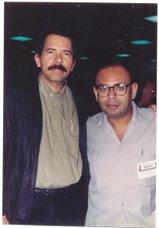 Con el Presidente de Nicaragua