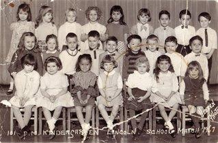 kindergarten 1967