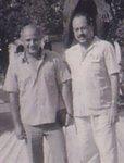 Helio Orobio y José Emilio Castellanos