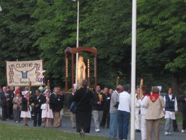 Candlight Procession (Lourdes, France)
