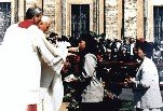 Communion with Pope John Paul II