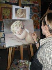 yağlıboya portre