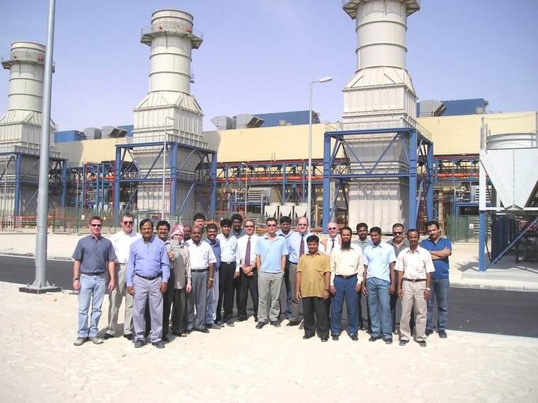 Az-Zour Gas Turbine Project Kuwait