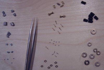 various small parts
