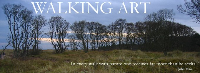 University of St Andrews: Walking Art