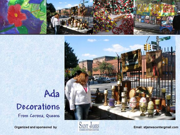 Ada Decorations de Corona, Queens