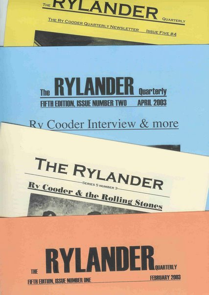 RYLANDER 5th edition