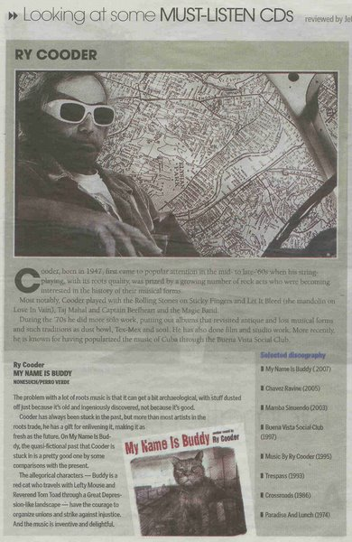 Hamilton Spectator CD Review