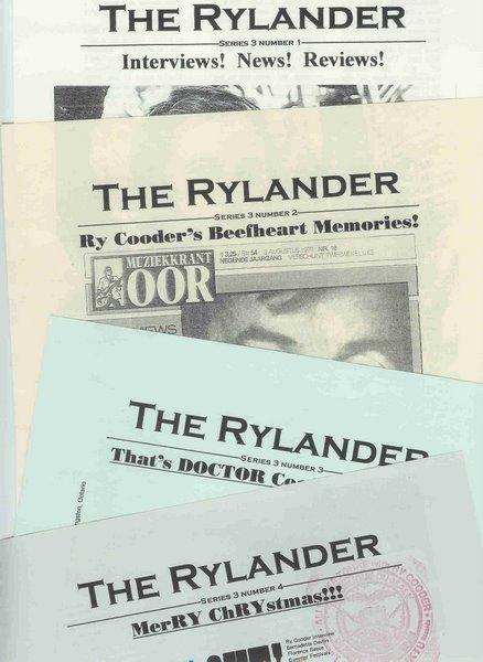 RYLANDER 3rd edition