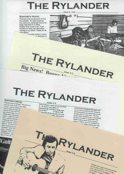RYLANDER second edition