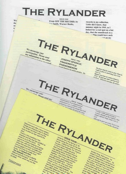 RYLANDER first edition