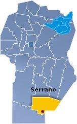 Ubicación de Serrano