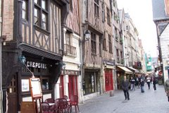 Historic quarter of Tours