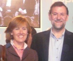 Pilar y Rajoy