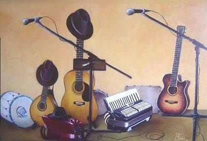 Tela de música