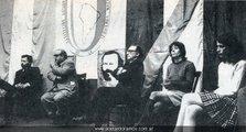 Año 1971, acto público del Partido Socialista de la Izquierda Nacional