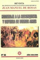 "Revista del Instituto Nacional de Investigaciones Históricas ""Juan Manuel de Rosas"""
