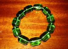 Grönt armband