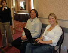 Blogging at the conference
