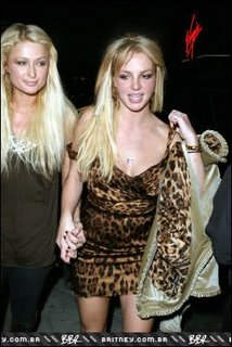Britney Spears and Paris Hilton