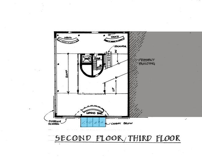 Second/Third Floor Plans