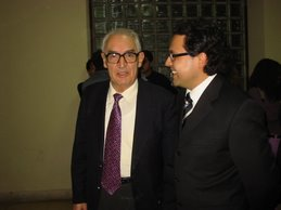 Grado de doctor con Don Pedro de Vega